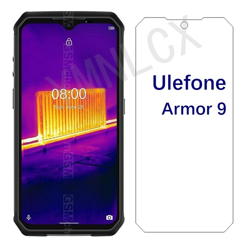 For Ulefone Armor 9 Tempered Glass Screen Protector Scratch proof Smartphone LCD Film For Ulefone Ar