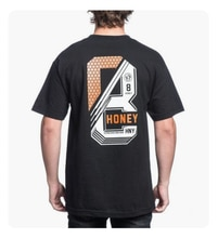 Honey Brand Co Mens S S T Shirt 8 Stack Streetwear Black Cookies Huf S L 30