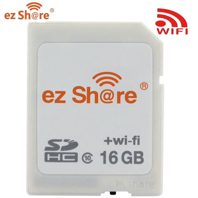 Ez Share-محول بطاقة Micro SD ، لاسلكي ، فلاش ، 16 جيجا بايت 32 جيجا بايت 64 جيجا بايت ، كاميرا فئة 10 ، واي فاي عالي الدقة 1080 بكسل ، وحدة تحكم صغيرة