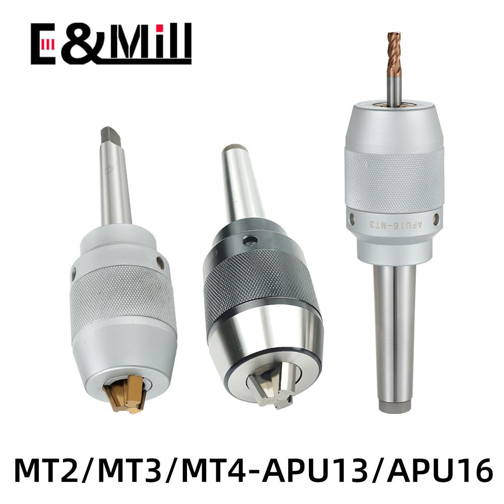 MT2 MT3 MT4 APU13 APU16 أداة حامل MT APU سكين عرقوب عالية الجودة نك المتكاملة الذاتي تشديد مخرطة المغزل أدوات حامل