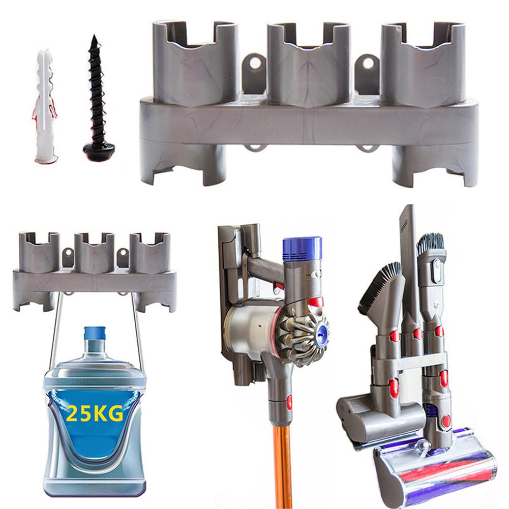 Vacuum Cleaner Wall Mount Accessories Tool Storage Rack For Dyson V7 V8 V10