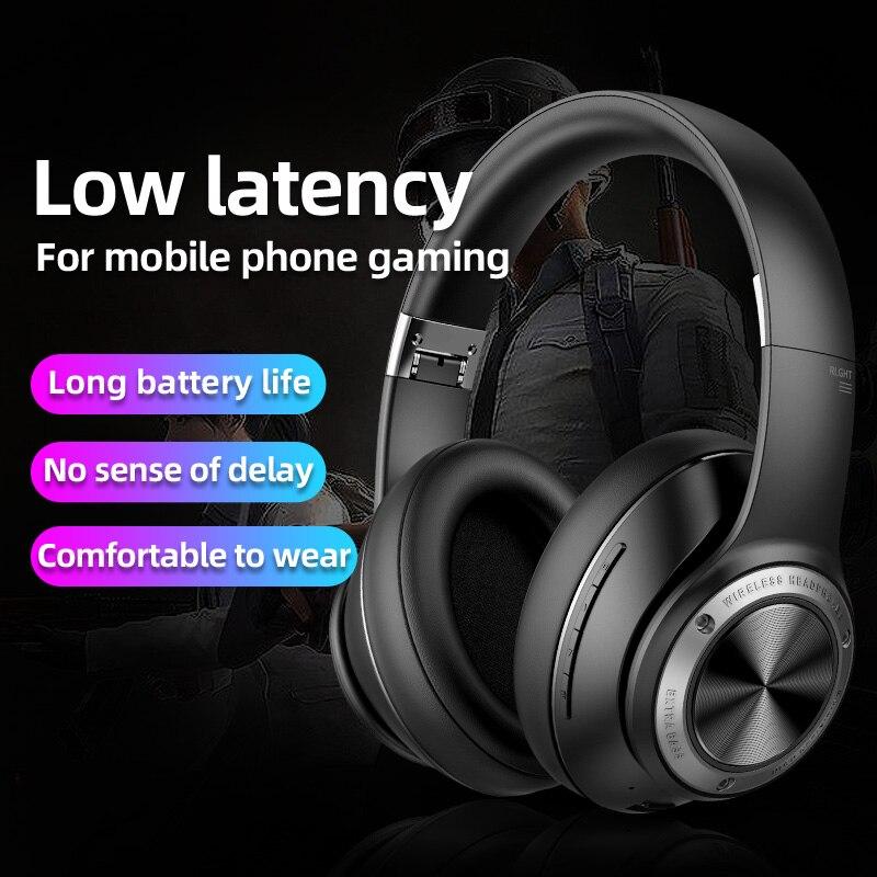 Picun-سماعة ألعاب لاسلكية B27 ، لأجهزة Xbox One ، PS4 ، بدون تأخير ، صوت جهير قوي مع ميكروفون
