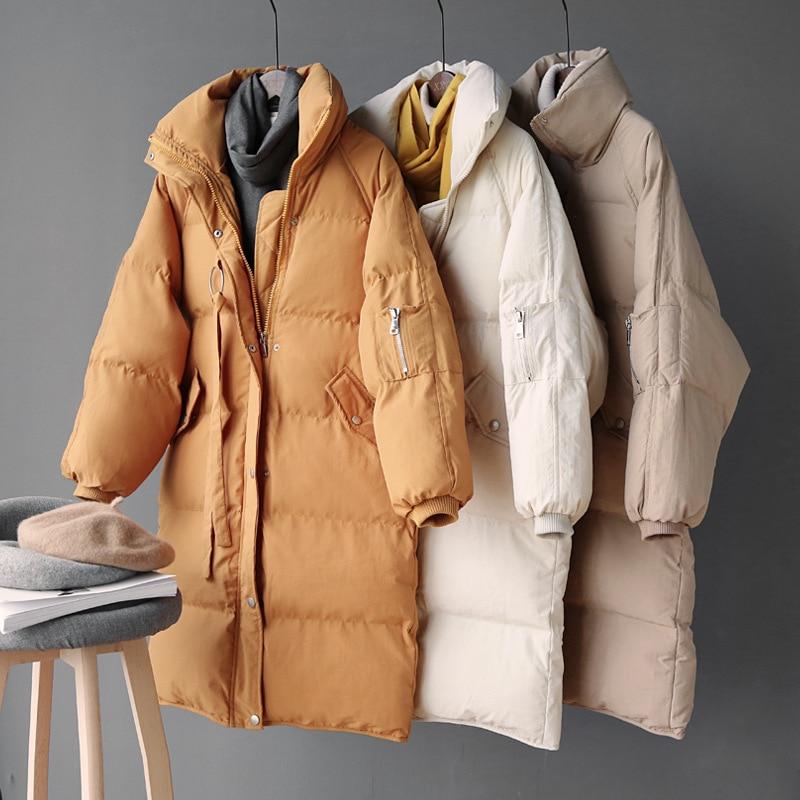 Abrigo de invierno para mujer 2019 abrigo largo grueso para mujer abrigo para mujer Casaco femenino