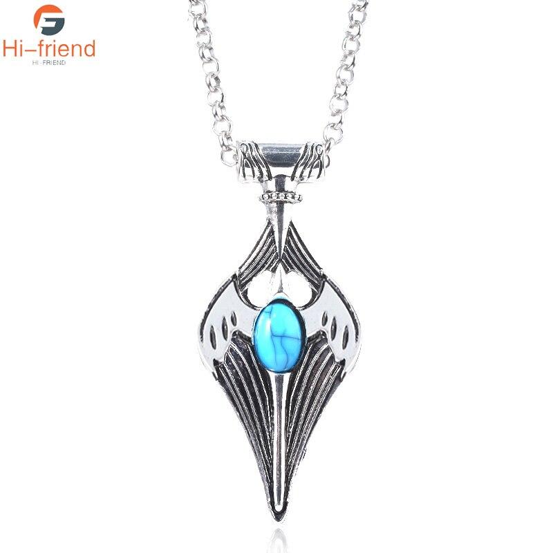 Kynareth Elder collar de pergamino amuleto Cosplay Kynareth Morrowind Oblivion de juego cielo amuleto