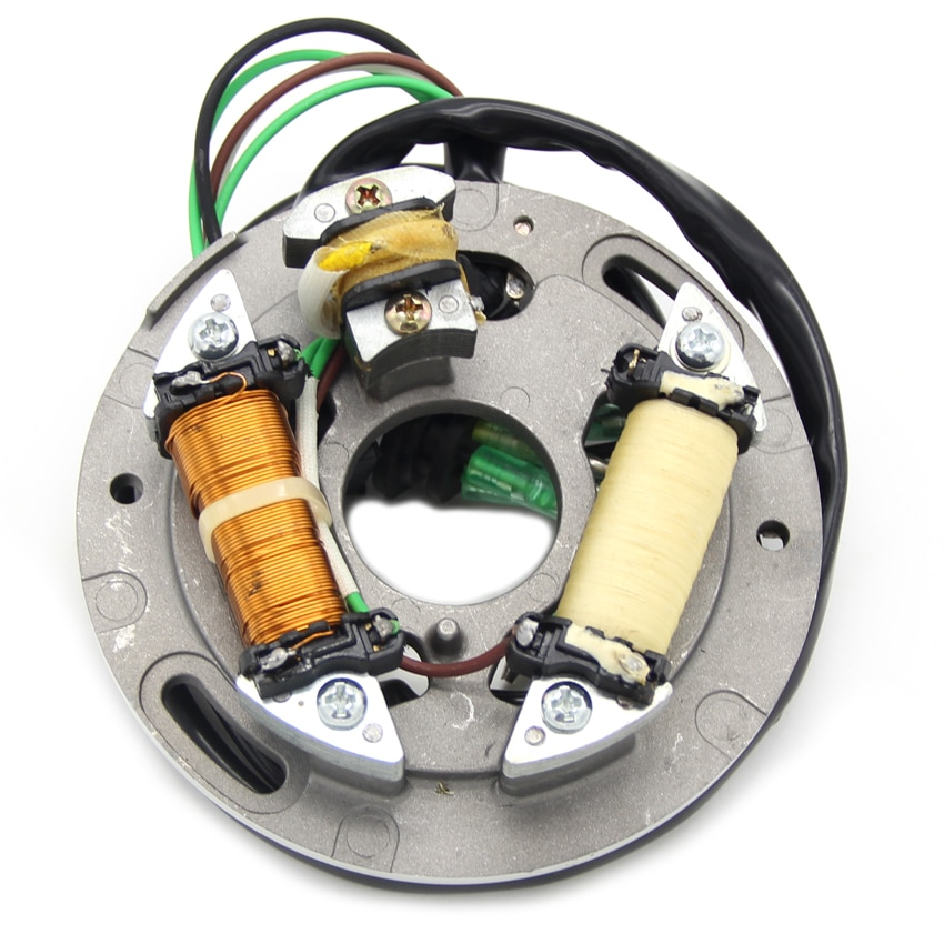 Motorcycle Ignition Magneto Stator Coil For Yamaha SJ650 SJ700 VX700 WR650 WB700 WB760 Engine Stator Generator Coil 6R8-85560-00 high speed motorcycle rotor magneto kits stator coil for yinxiang lying 150cc and 160cc engine motor accessories