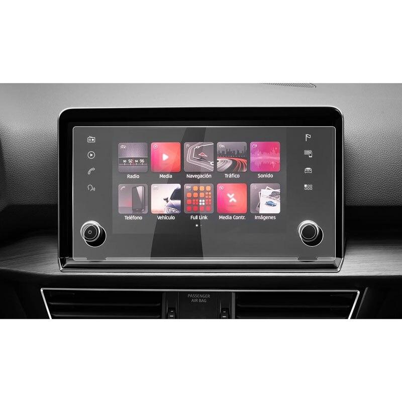 Защитная пленка для сенсорного экрана автомобиля Tarraco 2019 2020 8 дюймов, аксессуары для интерьера автомобиля, пленка из закаленного стекла