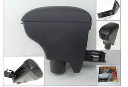 Free shipping 2007-2010 for Toyota Vitz/Yaris Black Leather Console Armrest