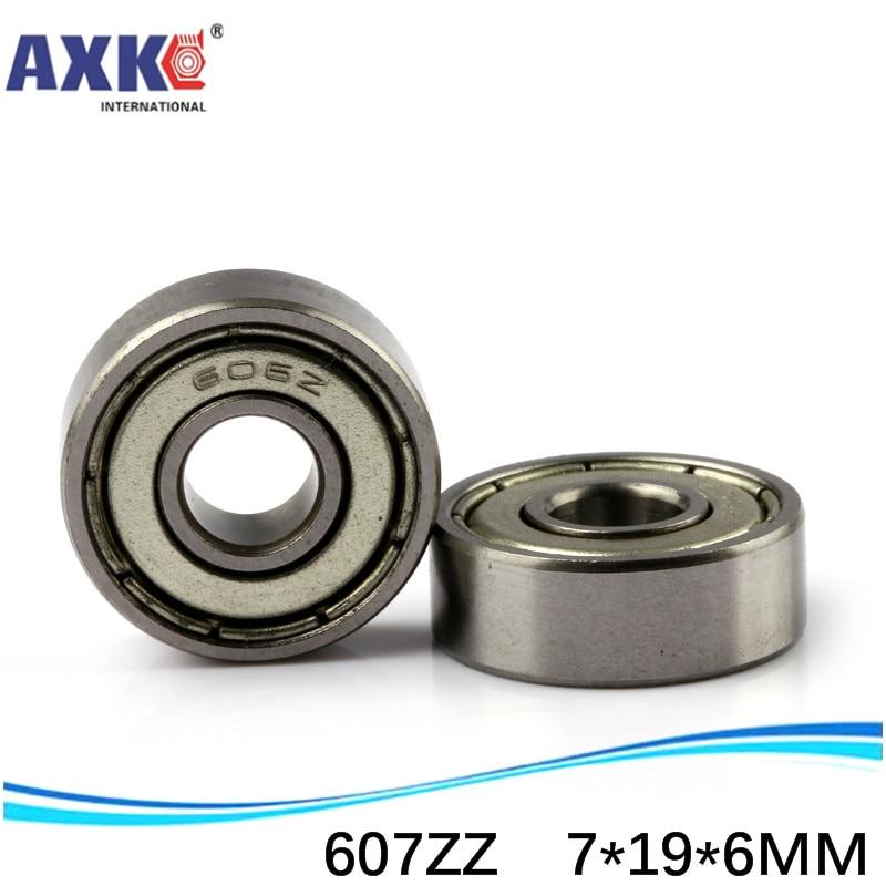 Venta directa de fábrica 607 Z 607ZZ 607-2RS S607ZZ S607-2RS R1970ZZ 80017 7*19*6mm alta calidad miniatura rodamiento rígido de bolas