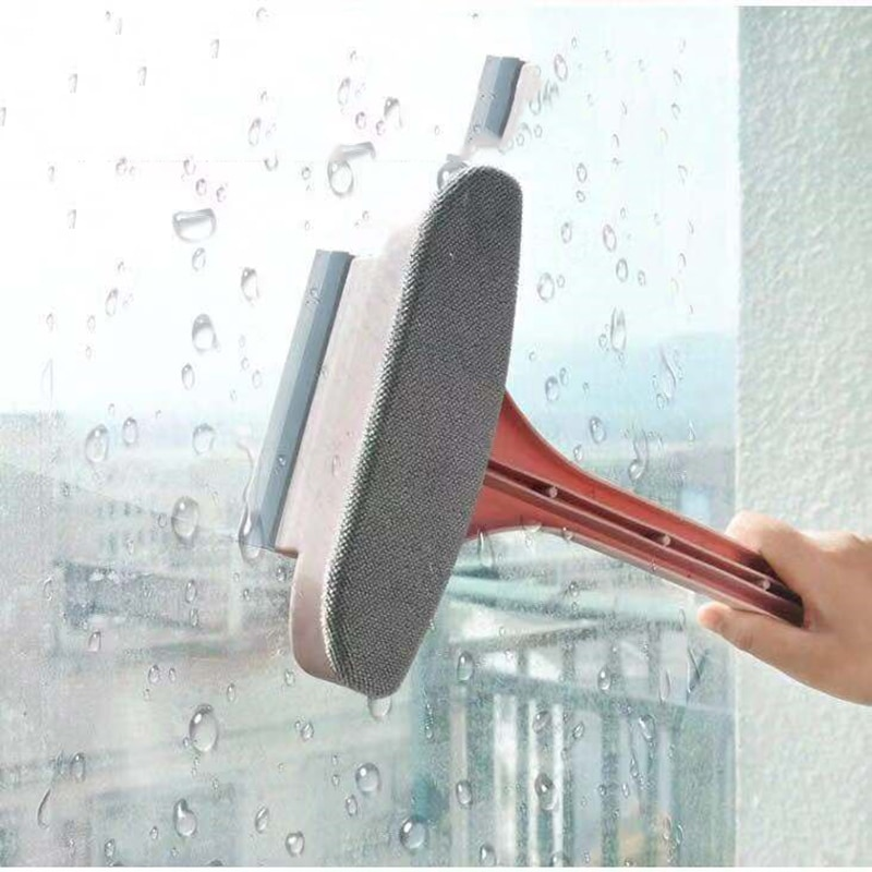 Car Window Cleaning Brush 2 In 1 Lengthened Non-removable Screen Window Glass Special Stain Remover Household Cleaning Tool enlarge