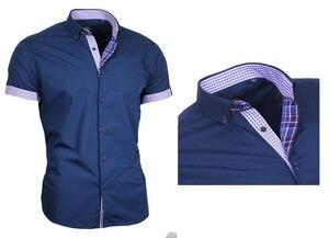 ZOGAA men clothing Men 6 color Shirt Short Sleeve T Shirt solid color Comfortable Clothing Casual Fashion Men tops