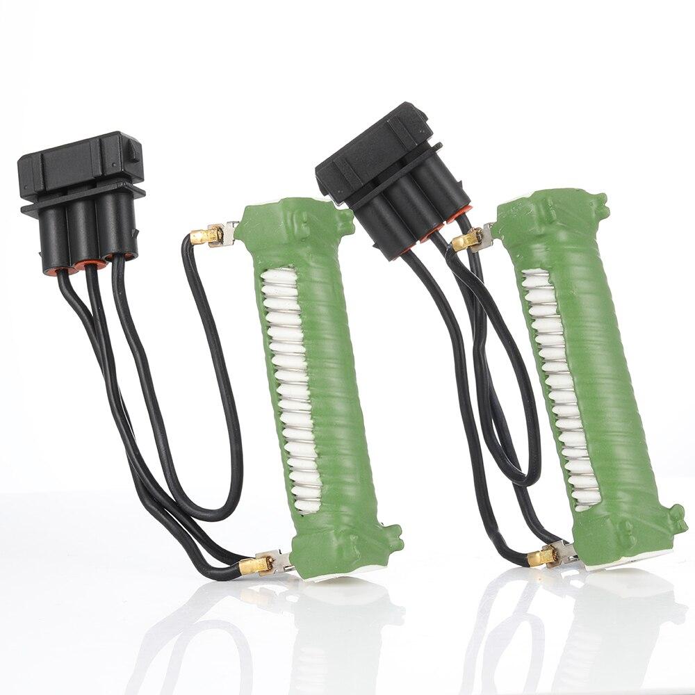 2 Pcs Engine Cooling Fan Resistors For Seat Alhambra for VW Sharan Transporter T4 for Volkswagen EuroVan  701959263B 701959263D