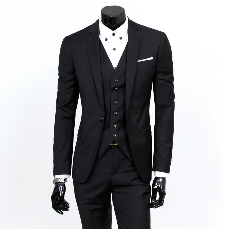 New suits men's suits, small suits, men's and groom's wedding dresses, three-piece suits suits