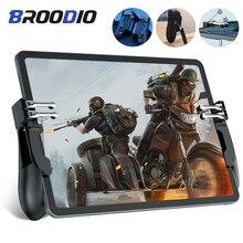 PUBG iPad contrôleur de déclenchement Six doigts Pubg manette de jeu Mobile poignée L1R1 tir de visée pour iPad tablette FPS poignée de jeu
