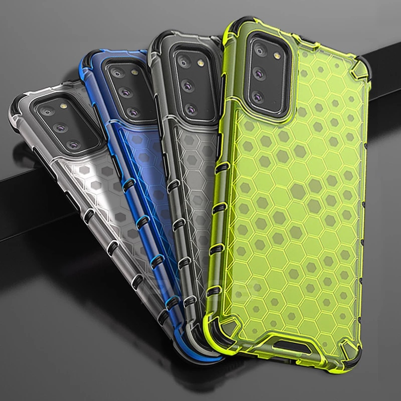 AliExpress - Shockproof Hybrid Armor Case for Samsung Galaxy Note 20 Ultra A50 A70 Honeycomb Cover for Samsung A51 A71 S20 S10 Plus A21S A40