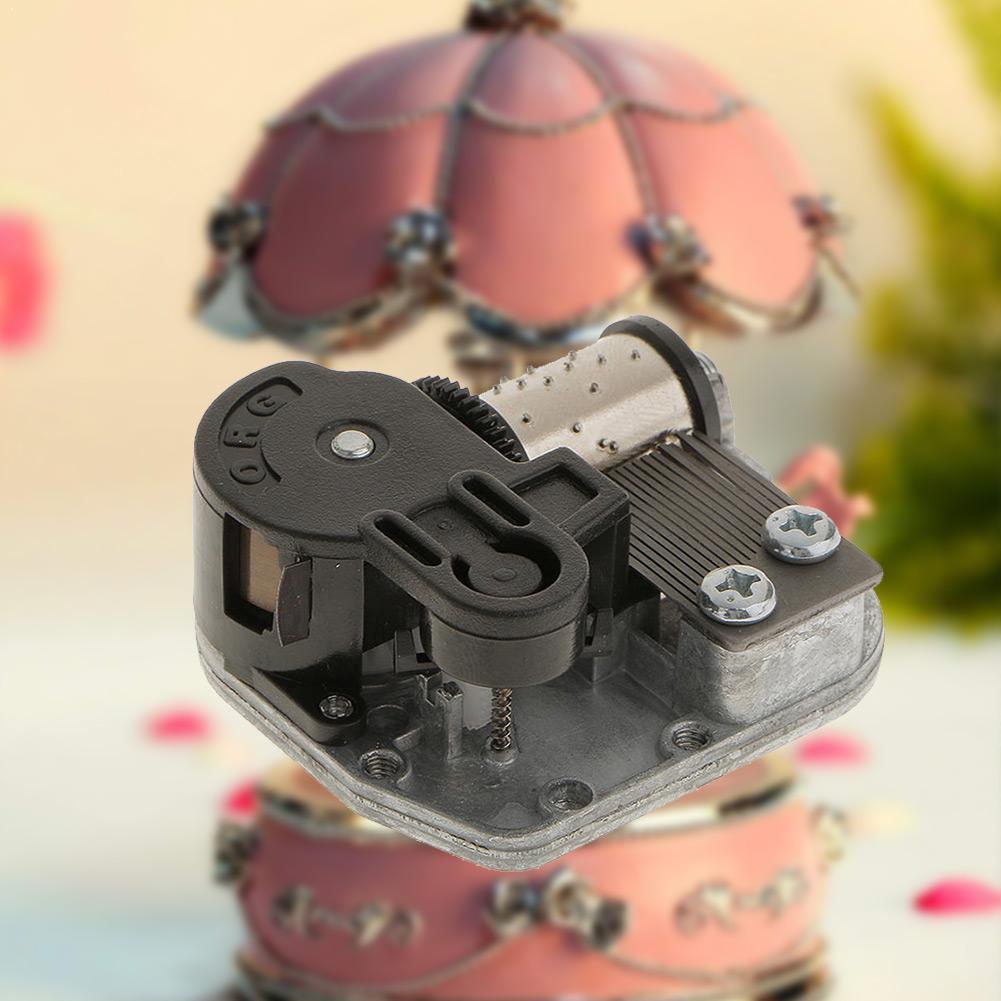 Venda quente diy manivela do motor de música mini caixa de música música jogar movimento da cidade o conjunto de acessórios vento brinquedo para cima céu encontro x0x6