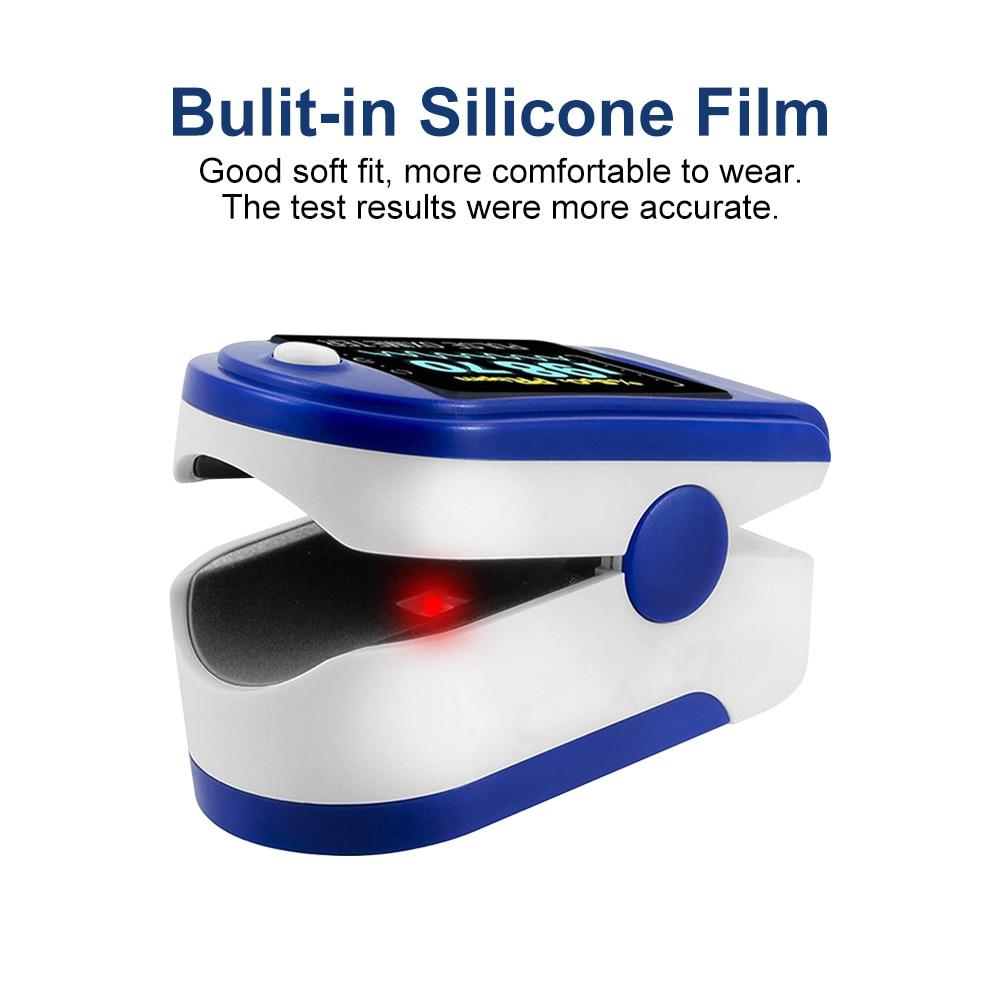 OLED Medical Household Digital Fingertip Pulse Oximeter Blood Oxygen Saturation Meter Finger SPO2 PR Monitor Health Care