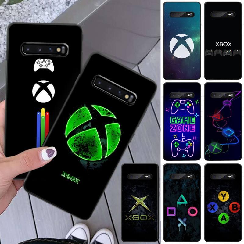 Games-XBOX PS4 Phone Case Coque Fundas For Samsung Galaxy A10 A20 A21 A30S A40 A50 A51 A70 A71 Note 8 9 10 Cases Cover