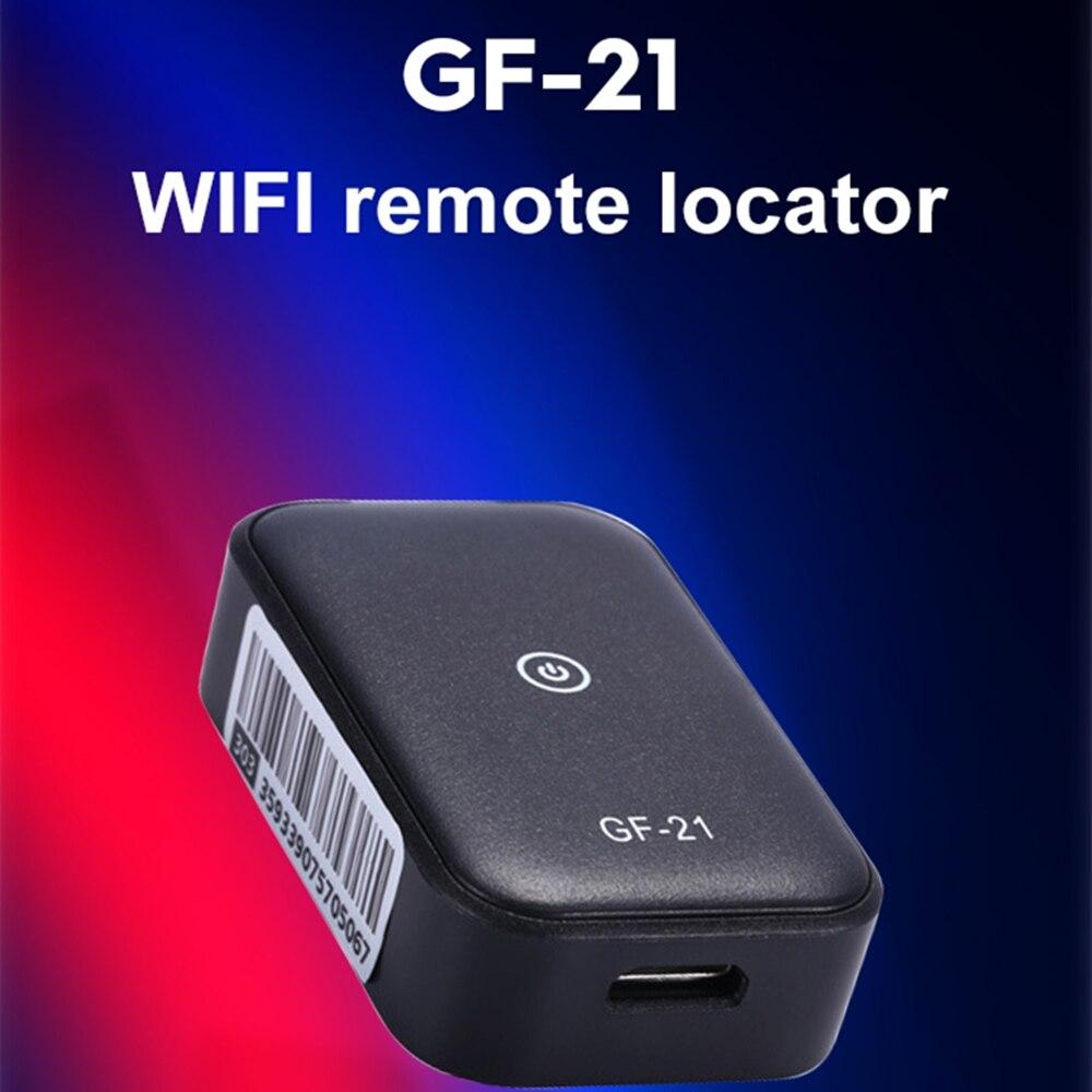Миниатюрный GPS-трекер GF21, автомобильный трекер с Wi-Fi, устройство против потери, небольшой локатор слежения, водонепроницаемый автомобильный...
