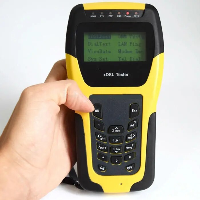 ST332B VDSL VDSL2, probador para xDSL, herramientas de mantenimiento y pruebas de línea (ADSL/ADSL2/ADSL2 +/VDSL2 /READSL)