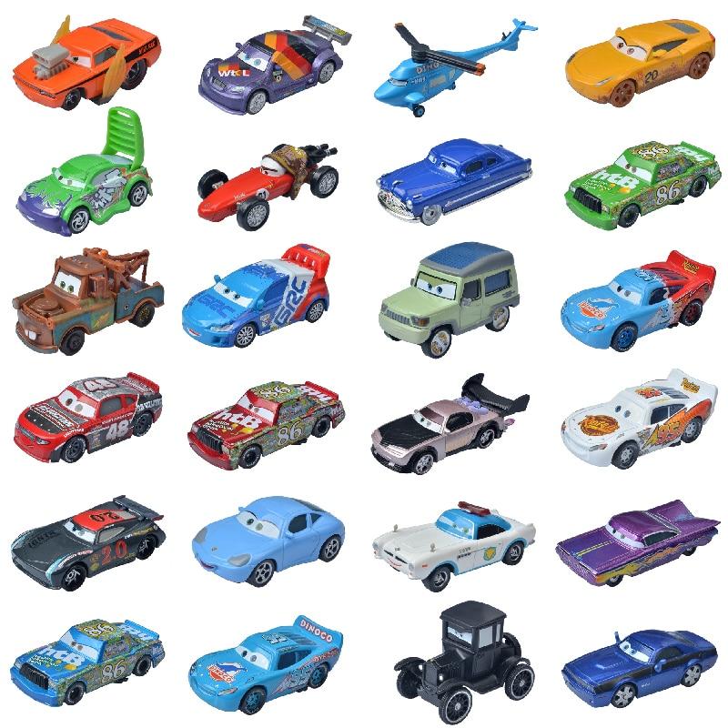 Disney Pixar Тачки 2 тачки 3 No.95 Молния Маккуин матер трактор 1:55 литая машина металлический сплав автомобиль игрушки для детей Подарки