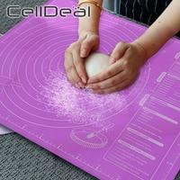 Силиконовый коврик для выпечки 45x60 см, антипригарный коврик для раскатывания теста, пиццы, теста, лист очень большой, кухонные инструменты