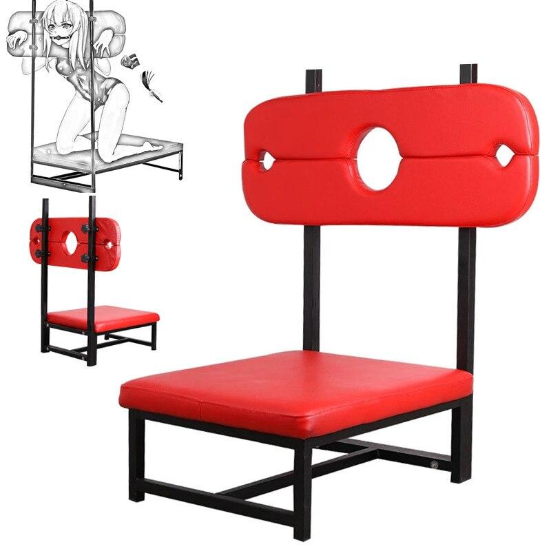 БДСМ секс-рабы стул мебель игрушки для пар мужские игры для взрослых товары для сексуальных позиций наручники оснащение для мужчин t SM секс ...