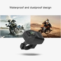 phone charger waterproof compass abs scooter usb charger mobile phone bracket for scooter