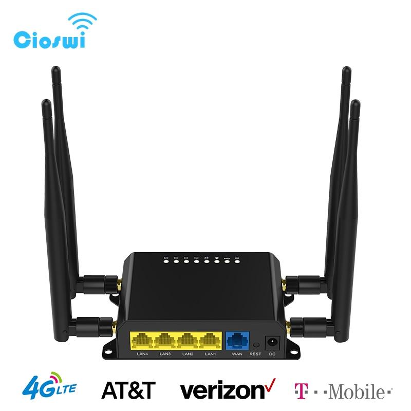 واي فاي راوتر 3G / 4G مودم مع فتحة بطاقة SIM نقطة الوصول 128MB OpenWt للسيارة / حافلة 12V GSM 4G LTE USB راوتر لاسلكي WE826-T2