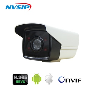 H.265 Audio Camera Sound Record DC 12V 1080p 48VPOE Waterproof ABS 5.0MP Full HD Motion detect RTSP FTP Onvif Night vision