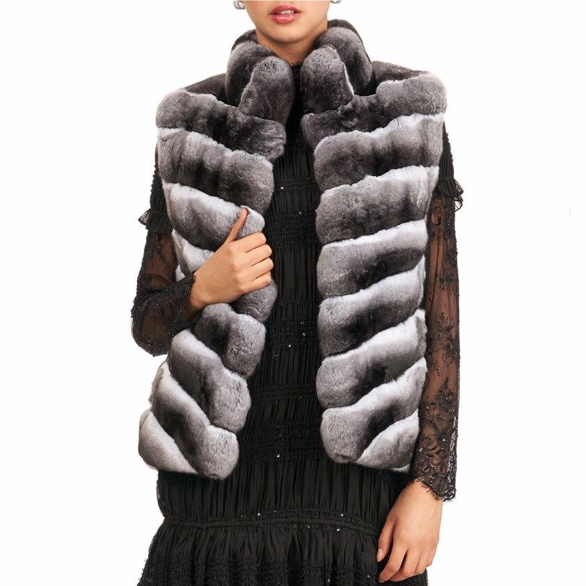 Natural Rex fur vest, real rex rabbit fur vest, winter fashion, keep warm