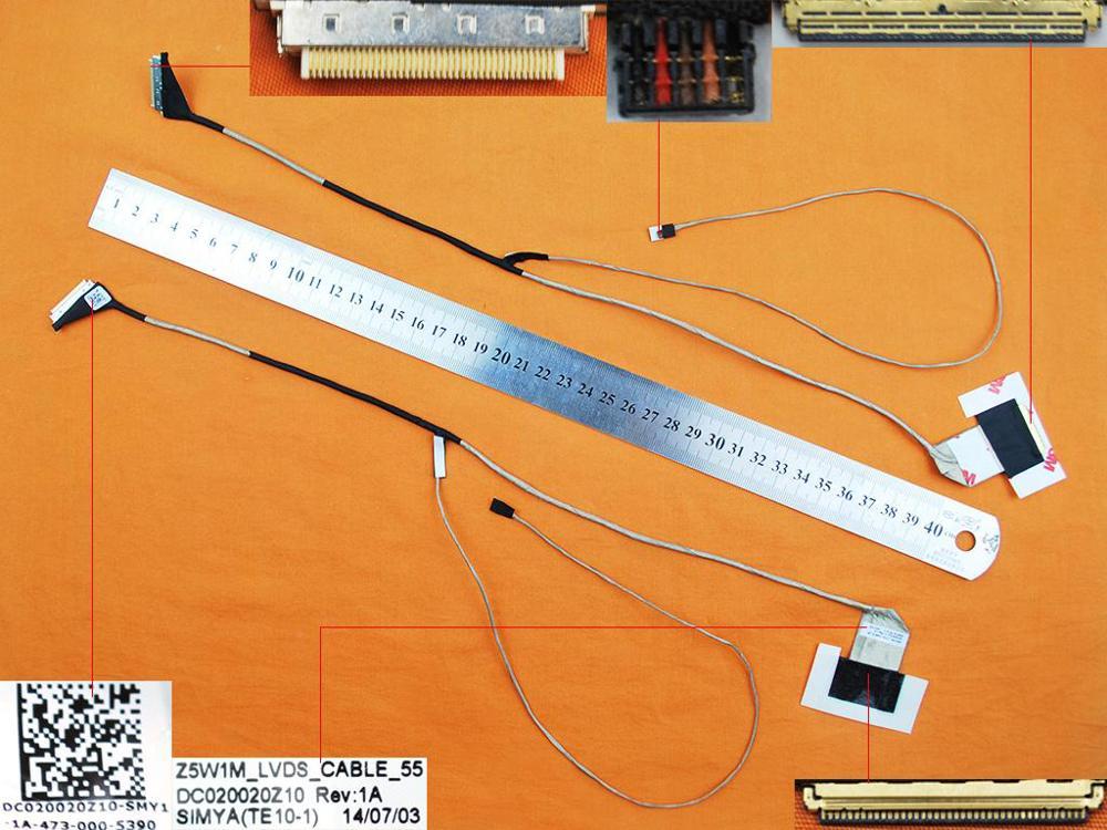 Cable flexible de vídeo LED LCD para Acer Aspire E15 ES1-511 Gateway...