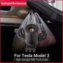 Model3 voiture arrière coffre crochet pour Tesla modèle 3 robuste roulement fonctionnel crochets Auto attache attache voiture intérieur accessoires