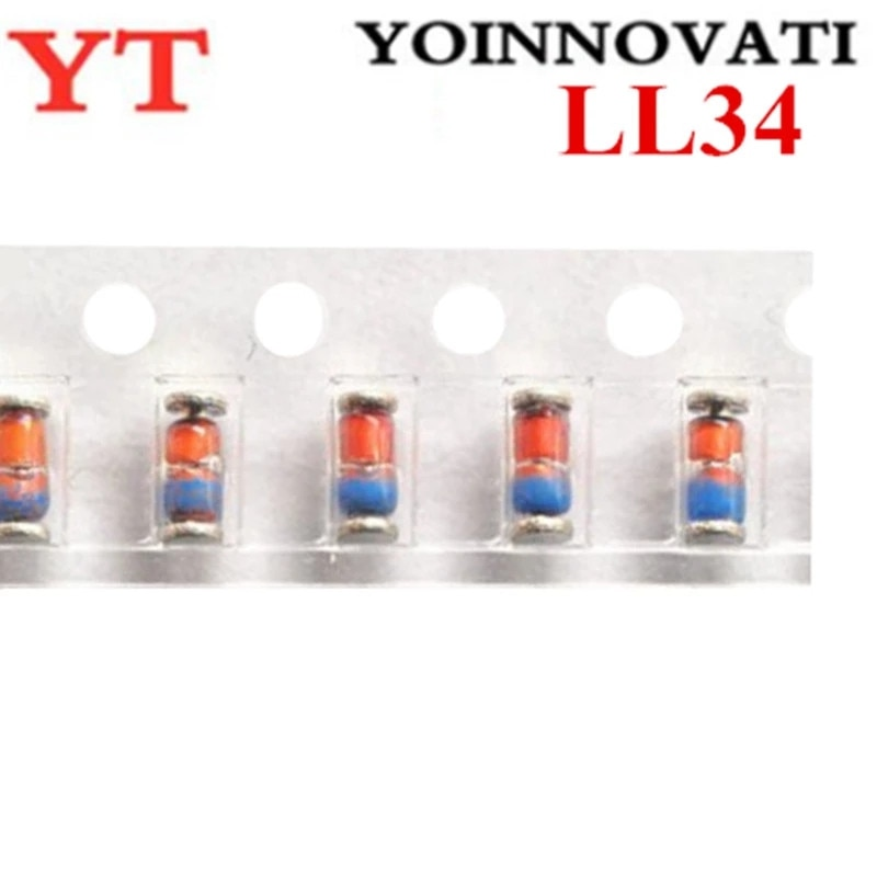 100pcs ZMM13 13V 0.5W 1/2W LL-34 1206