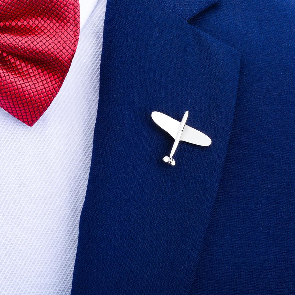 Bonito broche para solapa Avión de dibujos animados broche placa con PIN para bolsas para ropa mochilas chaquetas sombrero Decoración