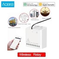 Aqara     module de controle a deux voies sans fil  2 canaux  pour application Mijia xiaomi Home et Homekit  Original