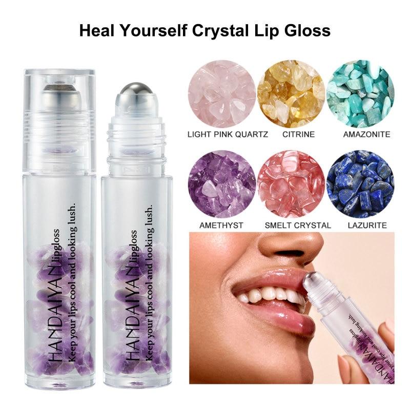 6 Color Lip Gloss Mirror Water Lip Gloss Lip Glaze Transparent Glass Lip Oil Waterproof Liquid Lipstick Lip Gloss Lip Cosmetics фото