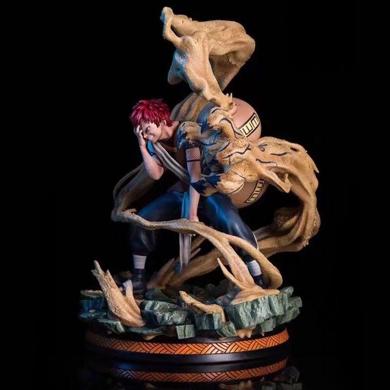 En Stock figura de Anime Naruto figura de acción modelo PVC GK Sabaku no Gaara shukawu juguetes coleccionables de una cola
