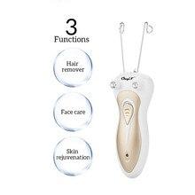 Épilateur électrique en fil de coton pour femmes, appareil de beauté Rechargeable pour épilation du visage et du corps