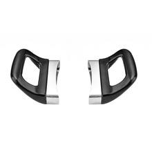 2pcs Anti Scalding Pot Handle Easy Install Dismountable Double Hole Short Bakelite Grip Pan Handle Black Ergonomic Kitchen Tool