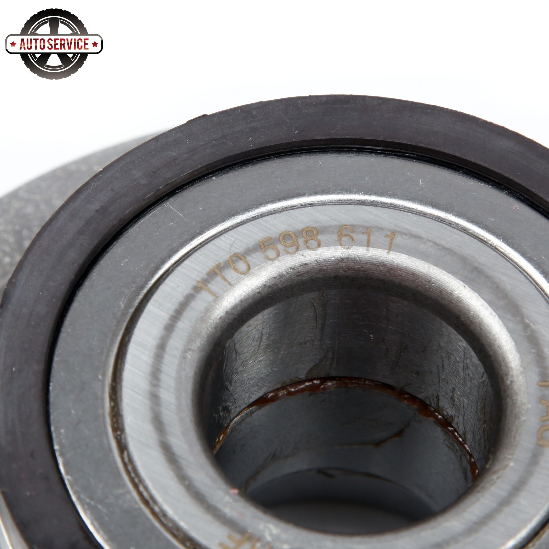 Купить с кэшбэком OEM 1T0598611 FWD Rear Wheel Hub Bearing Car Assembly For VW CC Jetta Golf Passat Audi A3 Q3 TT Skoda Seat 3G0598611A 1T0598611B