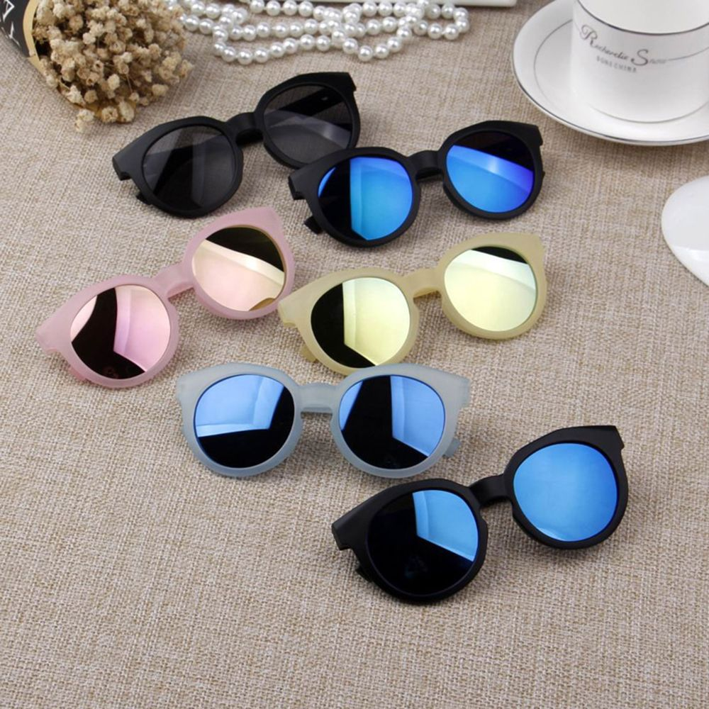 Kids Sunglasses Colorful Reflective Mirror Sunglasses Children Boy Girl Baby UV400 Protection Eyewea