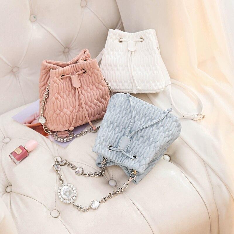 bags for women 2020 new fashion designer bags cute purses and handbags luxury famous brand bucket shoulder bag korea style