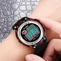 childrens unisex watch gold silver black vintage led digital sports military wristwatches electronic digital present gift kids
