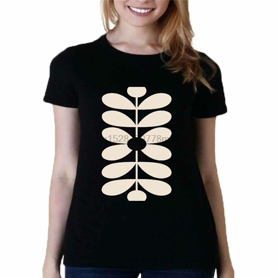 Belkin Orla Kiely Optic Stem футболка на заказ черная футболка Новая женская футболка на заказ специальный принт футболка