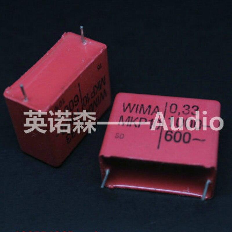 4 pièces ROUGE WIMA MKP10 0.33UF 1000V p27.5mm original nouveau MKP-10 334/1000V audio 330nf film 334 PCM27.5 offre spéciale 1KV 0.33U