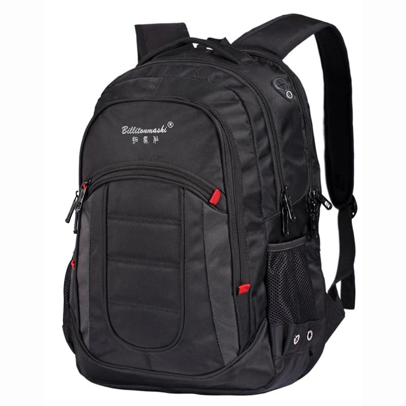 Mochila de carga USB de extensión, bolso de mano informal para ordenador de 15,6 pulgadas, bolso de negocios, mochila de viaje