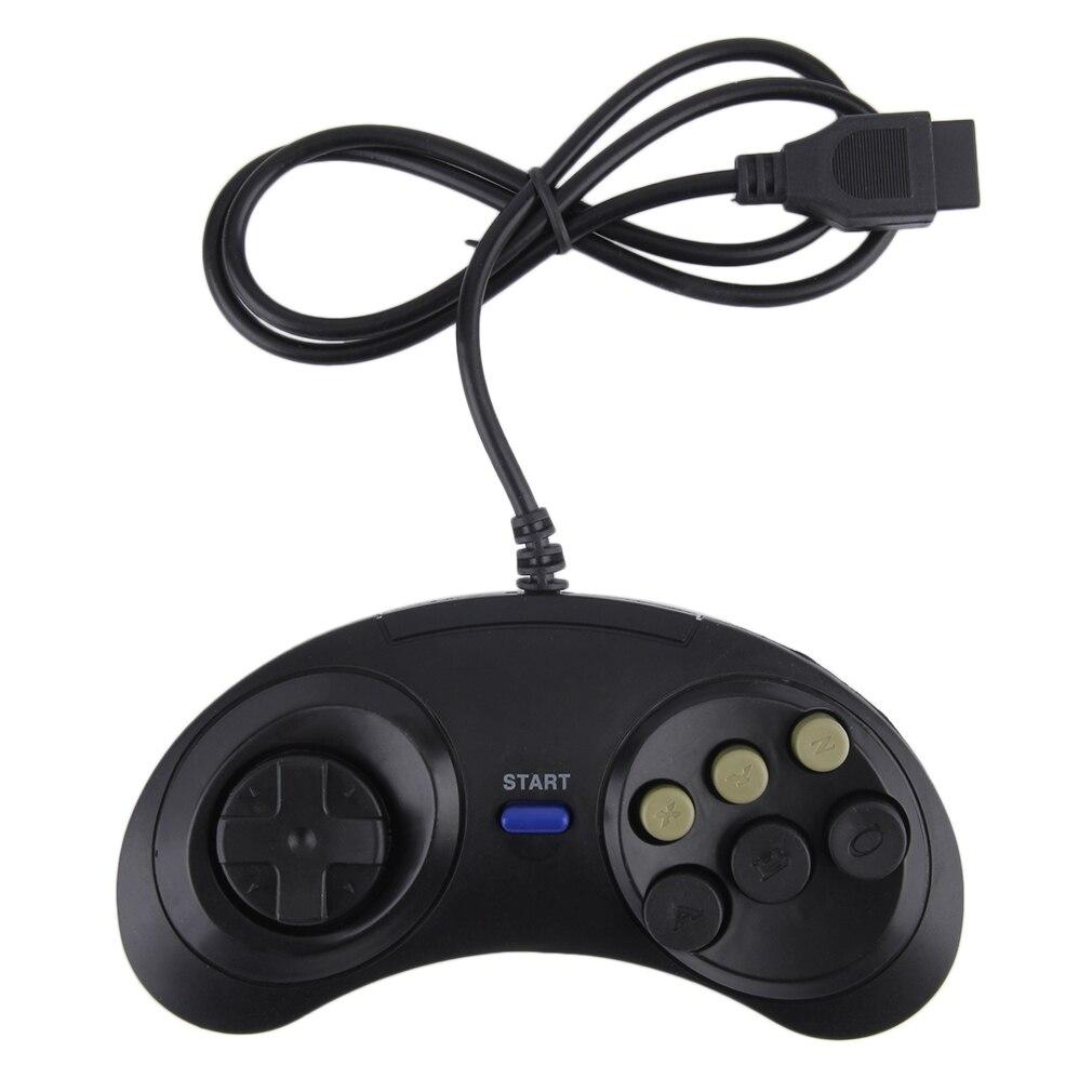 Mando de seis botones para Sega Megadrive, Mando de plástico para Mega...