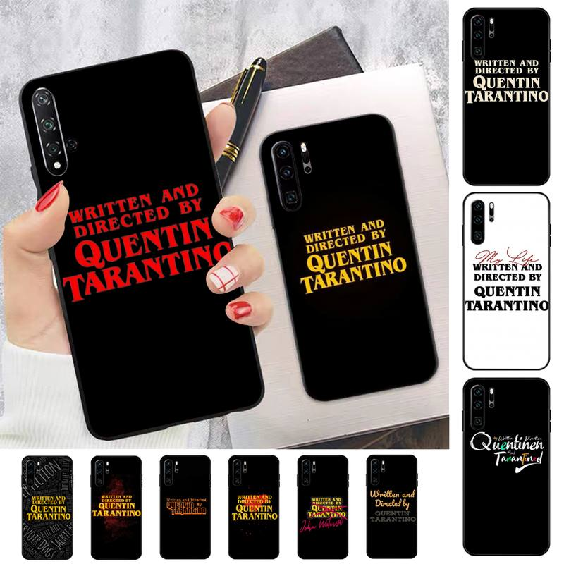 fhnblj-written-directed-quentin-tarantino-phone-case-for-huawei-p-6-7-8-9-10-20-30-40-pro-plus-lite-p9-lite-2016