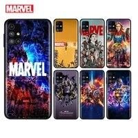 marvel avengers assemble for samsung note 20 10 9 8 ultra lite plus pro f62 m62 m60 m40 m31s m21 m20 m10s soft phone case