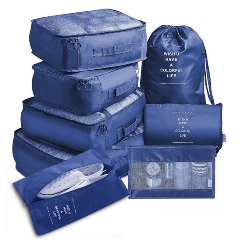 8 шт./набор, дорожные сумки-органайзеры
